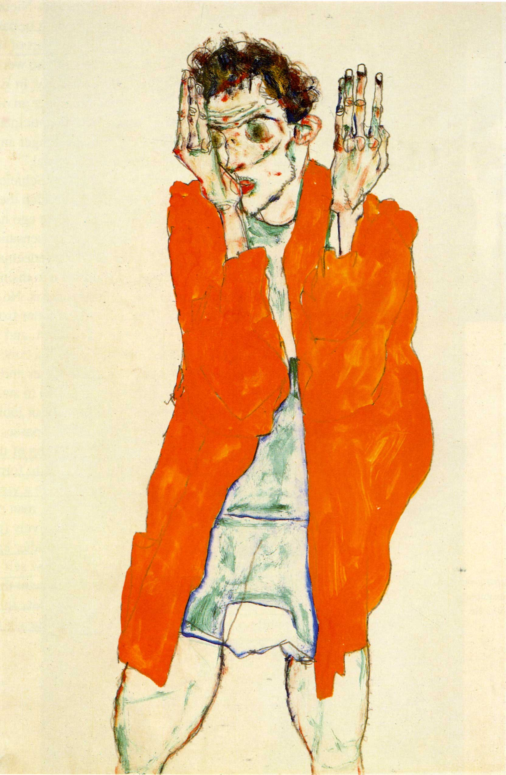 schiele self portrait