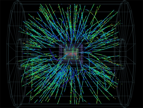 Unexpected data from the Large Hadron Collider suggest the collisions may be producing a new type of matter