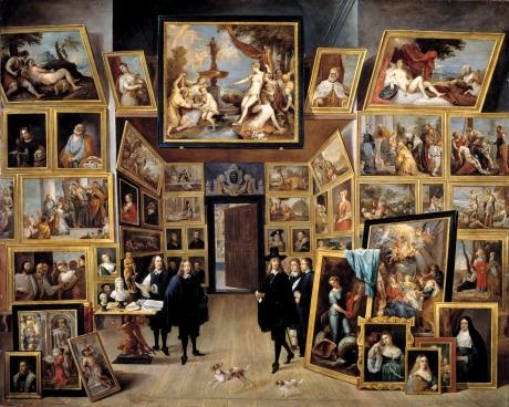 El_archiduque_Leopoldo_Guillermo_en_su_galería_de_pinturas_en_Bruselas_(David_Teniers_II)