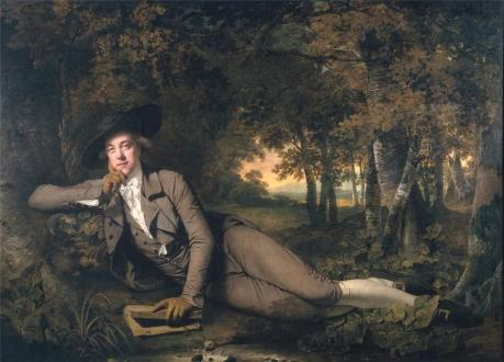 Henry Fuseli.Wright of Derby Sir Brooke Boothby 1781