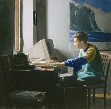 Young in front of a Computer Screen - Jonathan janson