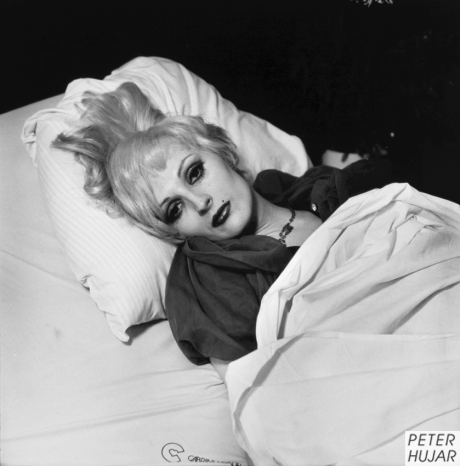 Candy Darling in her Hospital Bed, 1974