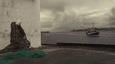 La veuve & la mer Zilda.street art LORIENT
