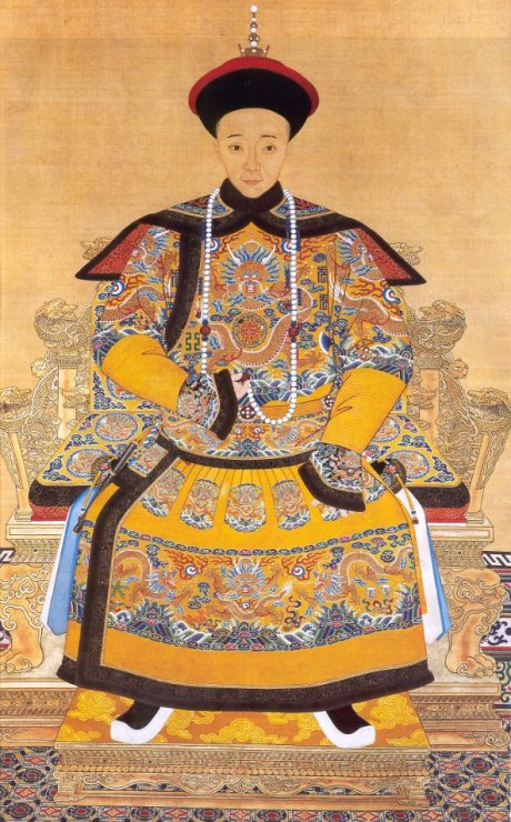 """003-The_Imperial_Portrait_of_a_Chinese_Emperor_called_""""Xianfeng"""""""