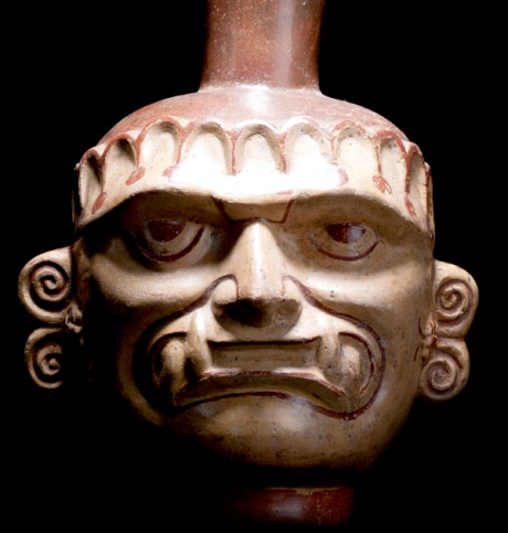 mochica head pot