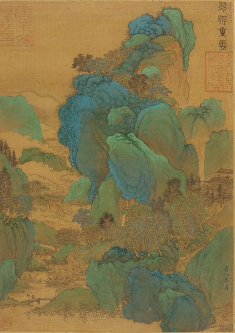 Li Sheng, active early 10th century Landscape a Mountain Gorge